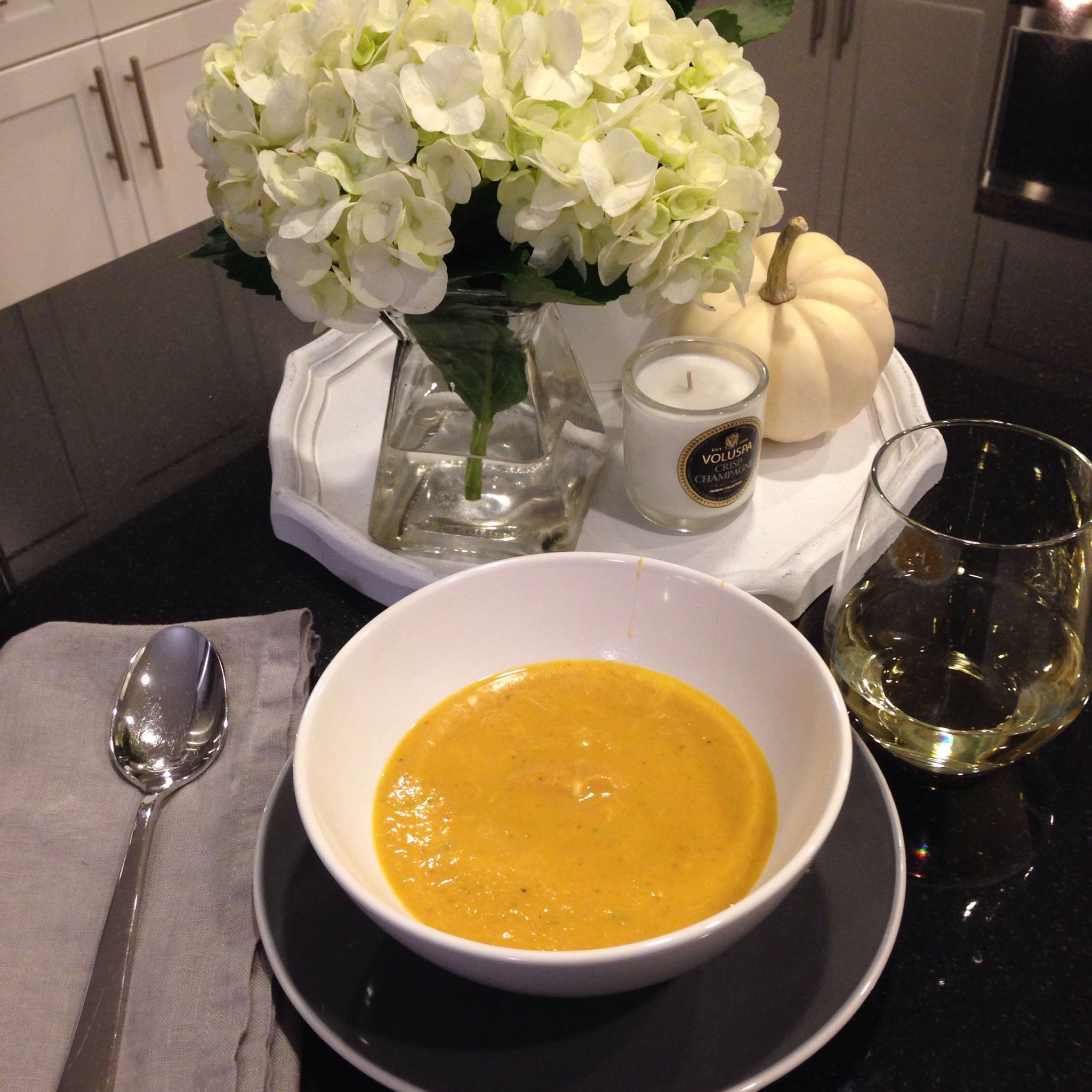 The Easiest (and tastiest) Pumpkin Soup You'll Ever Make